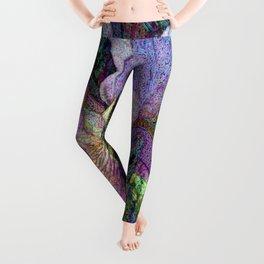 Impressionist Iris Leggings