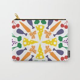 Vegetables Mandala Carry-All Pouch