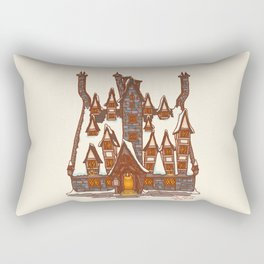 The three broomstick Rectangular Pillow