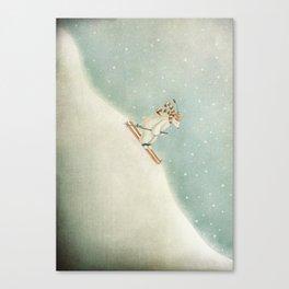 Downhill Canvas Print