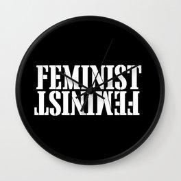 Feminist Wall Clock