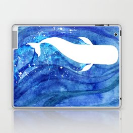The White Whale Laptop & iPad Skin