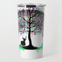 Colorless Raimbow Travel Mug