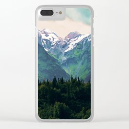 Escaping from woodland heights I Clear iPhone Case