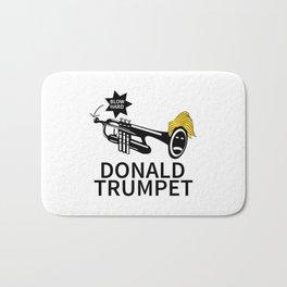 Donald Trump Trumpet Bath Mat