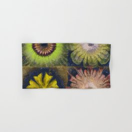Methylator Structure Flowers  ID:16165-011604-36970 Hand & Bath Towel
