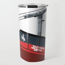 Jackson Hole Cable Car Travel Mug