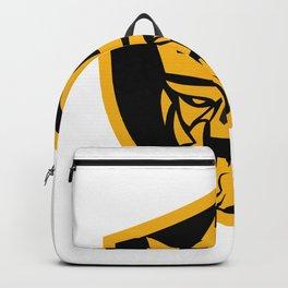 Neptune Skull Front Shield Backpack