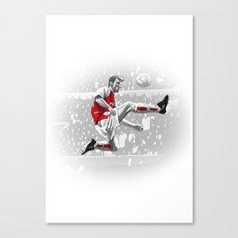 Dennis Bergkamp - Arsenal Canvas Print