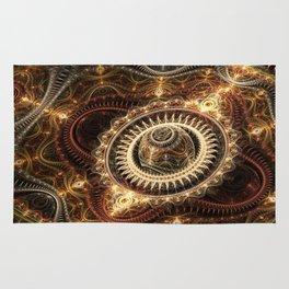 Clockwork 2 - Abstract Fractal Artwork Rug