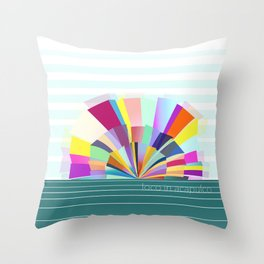 loco in acapulco Throw Pillow