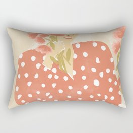 Destiny in her hands Rectangular Pillow