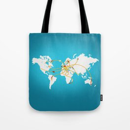 The Spaghetti Connection Tote Bag