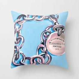 Tiffany & Co. Throw Pillow