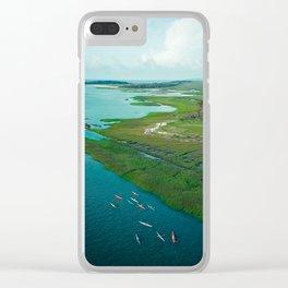 Sea Kayak Clear iPhone Case