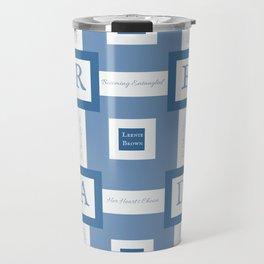 Read A Leenie B Book (blue) Travel Mug