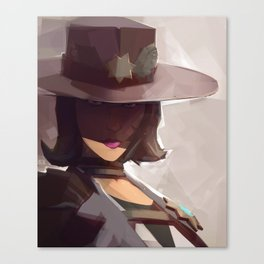 Borderlands - Sheriff of Lynchwood Canvas Print