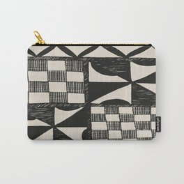 Tapa Cloth   Pacifica Patterns   Tribal Art Carry-All Pouch