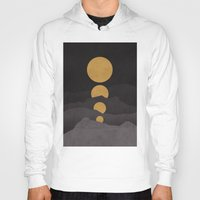 budi Hoodies featuring Rise of the golden moon by Picomodi