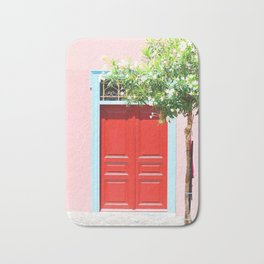 223. Red Door, Greece Bath Mat
