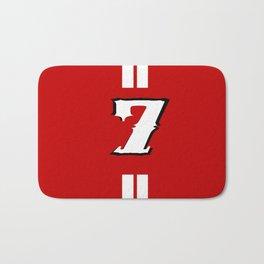 sacred jersey number Bath Mat