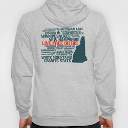 New Hampshire Live Free or Die Hoody