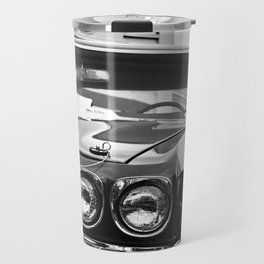 1970 Chevy Chevelle SS - B & W Travel Mug