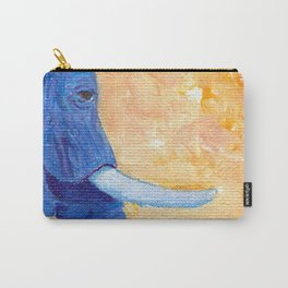 Ellie in Blues Carry-All Pouch