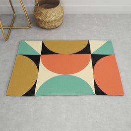 Mid Century Modern Geometric Abstract 235 Rug