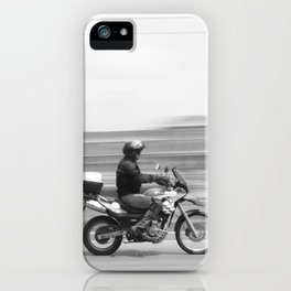 Speed Motor in town iPhone Case