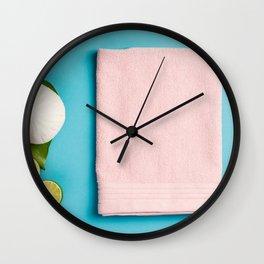 spa settings Wall Clock