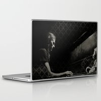 scott pilgrim Laptop & iPad Skins featuring Scott by Scott Pratt