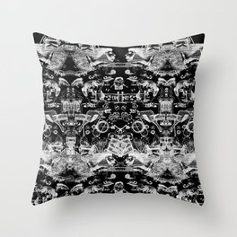 The road to Sochi Throw Pillow