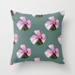 magnolia in the limelight Throw Pillow