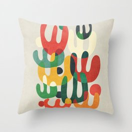 Cactus Throw Pillow