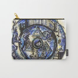 World through time Carry-All Pouch