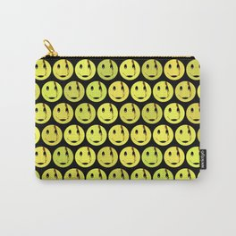 smiley face symbol Carry-All Pouch