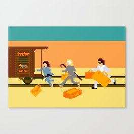 How Can A Train Be Lost? Canvas Print
