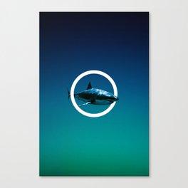 Shark. Canvas Print