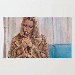 Margot Tenenbaum - Painting of Gwyneth Paltrow Rug