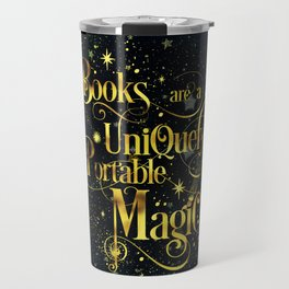 Books Are a Uniquely Portable Magic Travel Mug