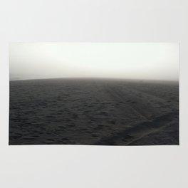 Gloomy Beach  Rug