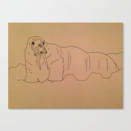 Walrus 1 Canvas Print