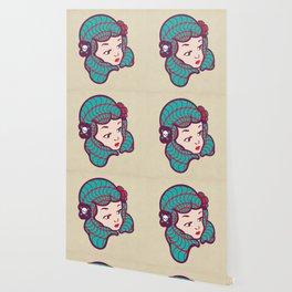 Girl Power Dynamite Laser Beam Wallpaper