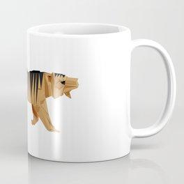 Origami Tiger Coffee Mug