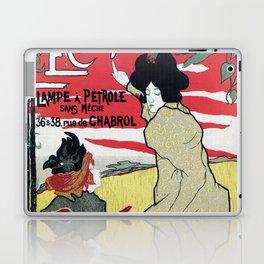 The Brilliant 1895 French Art Nouveau ad Laptop & iPad Skin