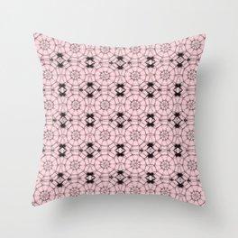 Blushing Bride Pinwheels Throw Pillow