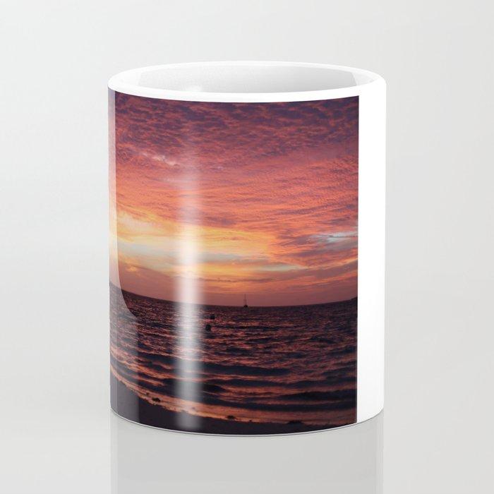 sunset by the sea Coffee Mug