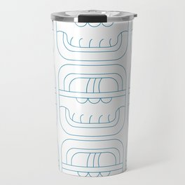 Symbolic art indigo maya Travel Mug