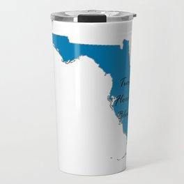 Turn Florida Blue! Vote Proud Democrat Liberal! 2018 Midterms Travel Mug